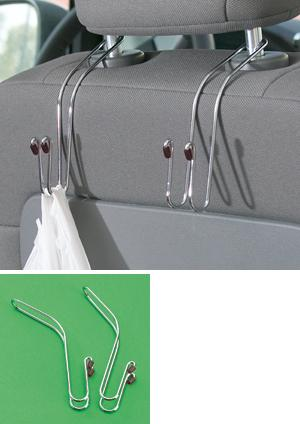 In-Car Hanging Hooks - Set of 2
