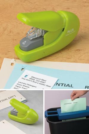 Paper Clinch Staple-Free Stapler