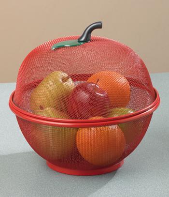 Bugs-Away Fruit Basket