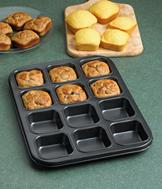 Square-Muffin Baking Pan