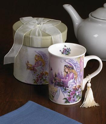 Gift-Boxed Angel Mug