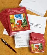 Christmas Cards with Recipes - Pack of 20