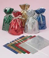 Drawstring Gift Bags - 10-Piece Set