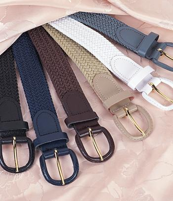 Braided Stretch Belt  - Each