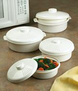Microwave Cookware - 6-Piece Set