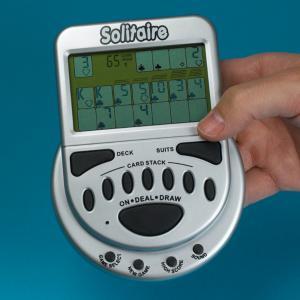 Mega Screen Portable Solitaire Game