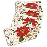 Poinsettia Placemats - Set of 4