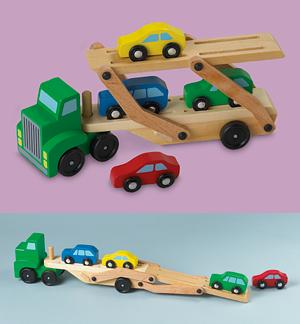 Solid Wood Car Carrier
