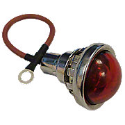 ABC1115 - 12V Red Dot Jewel Lens Assembly