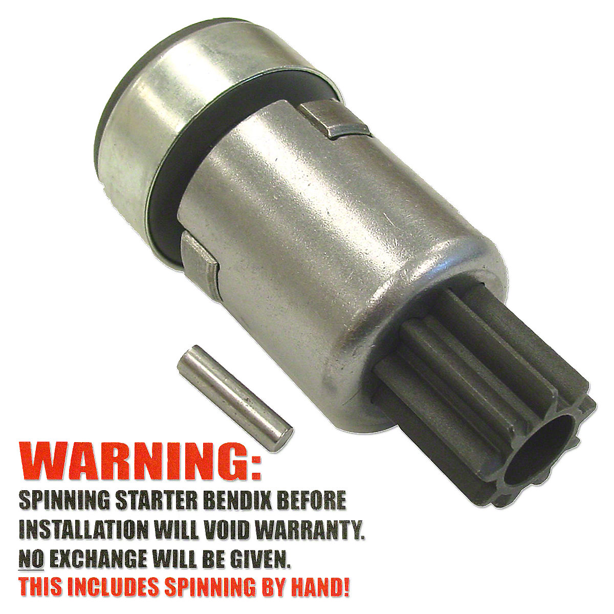 ABC129 Ratchet Style Starter Drive (Bendix)