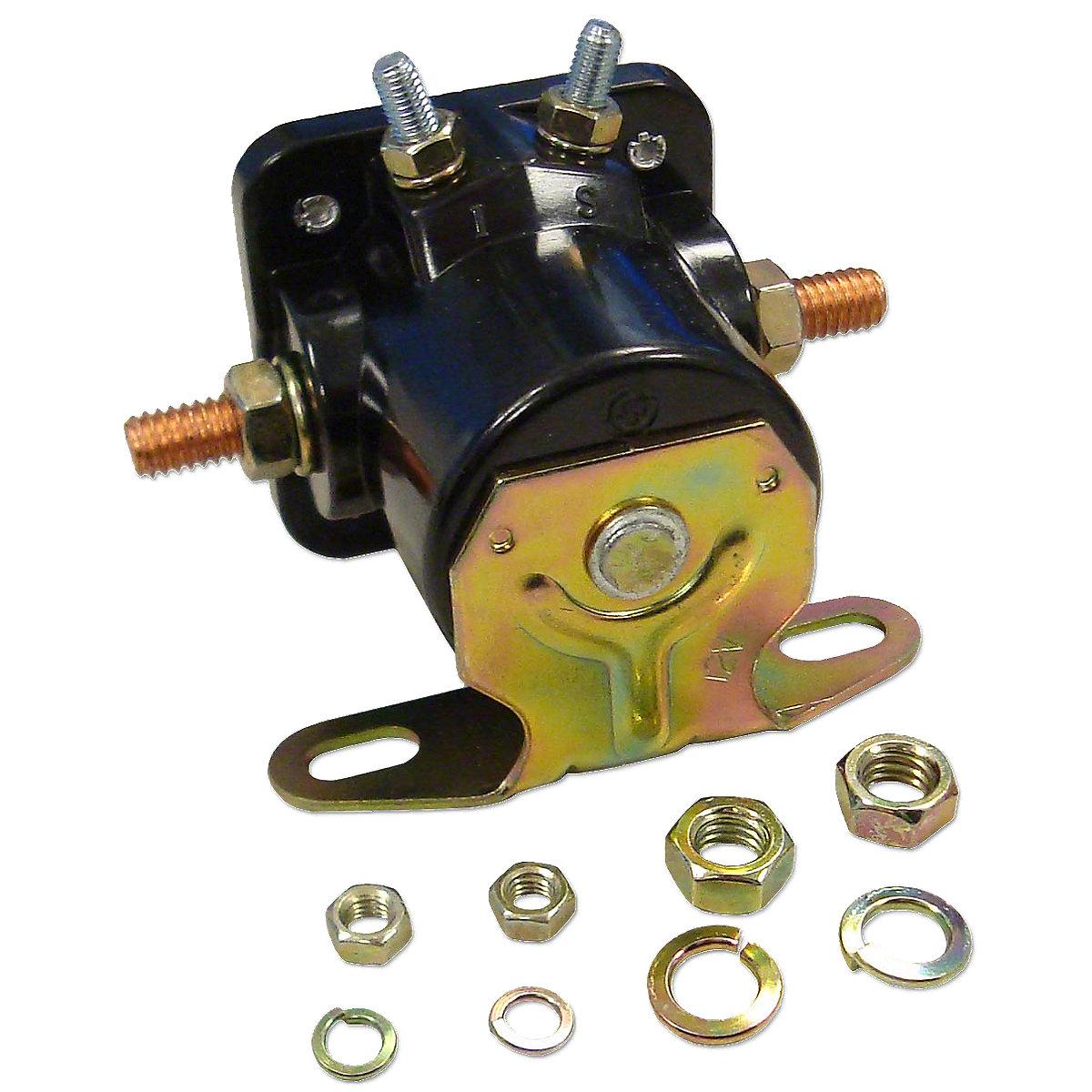John Deere 12 Volt Bosch Starter Solenoid Manual Guide