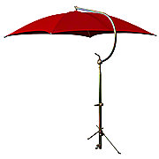 ABC2357 - Deluxe Red Umbrella with Brackets