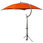 ABC2372 - Deluxe Orange Umbrella with Brackets