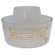 ABC484 - Small  Pre-Cleaner Bowl  (Clear Plastic)