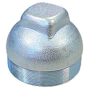 ABC553 - Stamped Steel Front Hub Cap Exact Reproduction