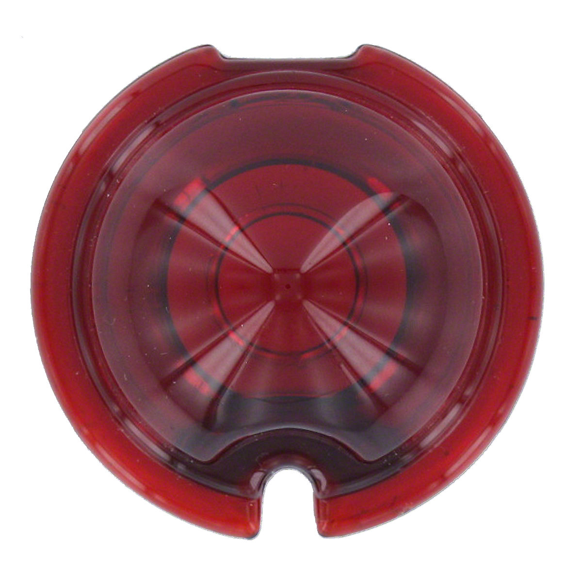 ACS123 Red Glass Tail Light Lens