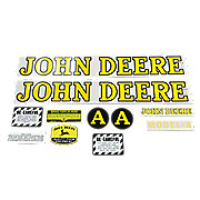 DEC002 -  JD A 1939-1946: Mylar Decal Set