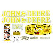 DEC009 - JD D 1923-38: Mylar Decal Set