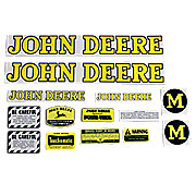 DEC019 - JD M 1947-52: Mylar Decal Set
