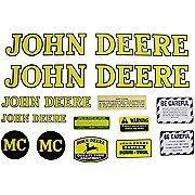 DEC021 - JD MC 1947-52: Mylar Decal Set