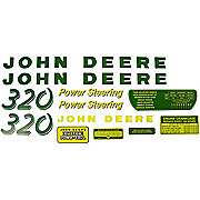 DEC024 - JD 320: Mylar Decal Set