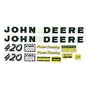 DEC025 - JD 420: Mylar Decal Set