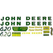 DEC027 - JD 620: Mylar Decal Set
