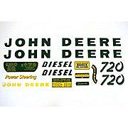 DEC029 - JD 720 Diesel: Mylar Decal Set