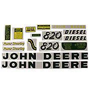 DEC030 - JD 820 Diesel: Mylar Decal Set