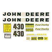 DEC032 - JD 430: Mylar Decal Set