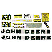 DEC033 - JD 530: Mylar Decal Set
