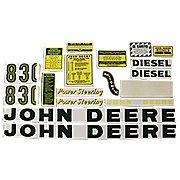 DEC037 - JD 830 Diesel: Mylar Decal Set