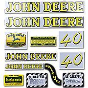 DEC038 - JD 40: Mylar Decal Set