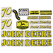 DEC041 - JD 70 Gas: Mylar Decal Set