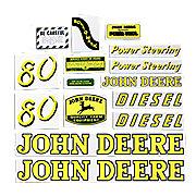 DEC043 - JD 80 Diesel: Mylar Decal Set