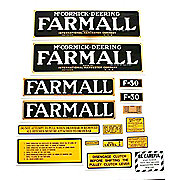 DEC072 - Farmall F-30: Mylar Decal Set