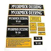 DEC075 - MC D W-30: Mylar Decal Set