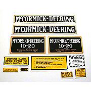 DEC077 - MC D 10-20: Mylar Decal Set
