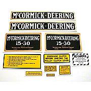 DEC078 - MC D 15-30: Mylar Decal Set