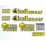 DEC135 - MH Challenger: Mylar Decal Set