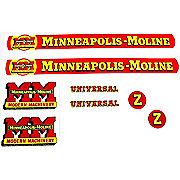 DEC141 - MM Z: Mylar Decal Set
