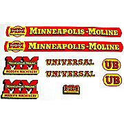DEC142 - MM UB: Mylar Decal Set