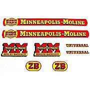 DEC145 - MM ZB: Mylar Decal Set