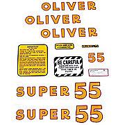 DEC169 - Oliver Super 55: Mylar Decal Set