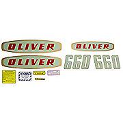 DEC179 - Oliver Early 660 Gas: Mylar Decal Set