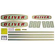 DEC183 - Oliver Early 880 Gas: Mylar Decal Set
