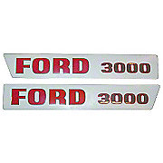 DEC194 - Ford 300 Up To 1968: Mylar Decal Set