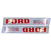 DEC196 - Ford 5000 Up To 1968: Mylar Decal Set