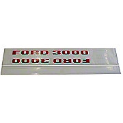DEC198 - Ford 3000 1968 And Up: Mylar Decal Set
