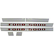 DEC200 - Mylar Decal Set - Ford 5000 1968 And Later